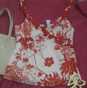 ANN TAYLOR Lined Cami Top 6 NWT